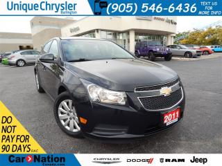 Used 2011 Chevrolet Cruze LT Turbo|BLUETOOTH|A/C for sale in Burlington, ON