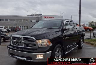 Used 2012 Dodge Ram 1500 SLT HEMI|Big Horn Edition|Quad Cab|4x4| for sale in Scarborough, ON