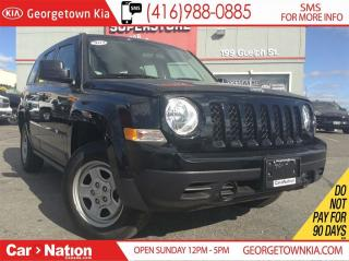 Used 2017 Jeep Patriot Sport/North | 4X4 | CLEAN CARPROOF | A/C | CRUISE for sale in Georgetown, ON