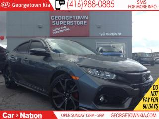 Used 2017 Honda Civic Sport | TURBO | ROOF | BACK UP CAM | 6 SPEED | for sale in Georgetown, ON