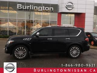 Used 2015 Infiniti QX80 TECH, * BEST PRICE * ACCIDENT FREE ! for sale in Burlington, ON