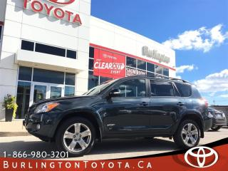 Used 2010 Toyota RAV4 Sport Sunroof for sale in Burlington, ON