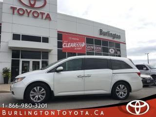 Used 2014 Honda Odyssey EX-L Loaded for sale in Burlington, ON