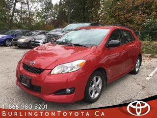 Used 2013 Toyota Matrix TOURING SUNROOF for sale in Burlington, ON