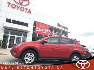 Used 2015 Toyota RAV4 LE UPGRADE, LOW KM'S for sale in Burlington, ON