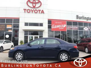 Used 2013 Toyota Corolla CE SUNROOF, LOW KM'S for sale in Burlington, ON