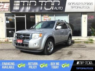 Used 2012 Ford Escape Limited ** 4x4, Leather Interior, Sunroof, Bluetoo for sale in Bowmanville, ON