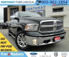 Used 2013 Dodge Ram 1500 Laramie Longhorn | REMOTE START | NAV | LOW KM | for sale in Brantford, ON