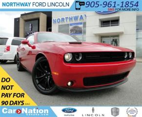 Used 2016 Dodge Challenger SXT | LOW KM | REAR CAMERA | for sale in Brantford, ON