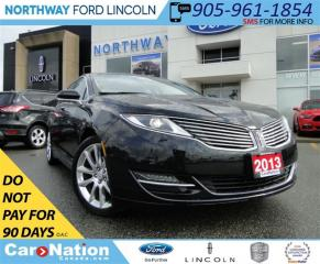 Used 2013 Lincoln MKZ NAV | REAR CAM | SUNROOF | HEATED LEATHER | for sale in Brantford, ON
