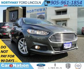 Used 2016 Ford Fusion SE | REAR CAMERA | HEATED LEATHER SEATS | for sale in Brantford, ON