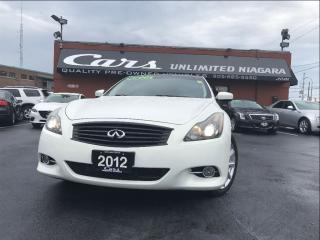 Used 2012 Infiniti G37 X Premium for sale in St Catharines, ON