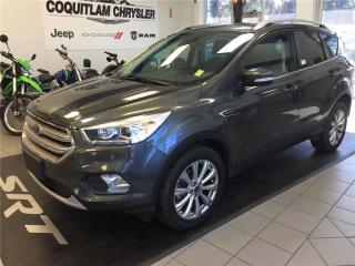 Used 2017 Ford Escape Titanium for sale in Coquitlam, BC