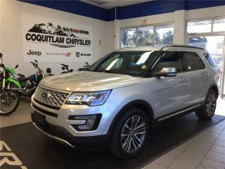 Used 2017 Ford Explorer Platinum for sale in Coquitlam, BC