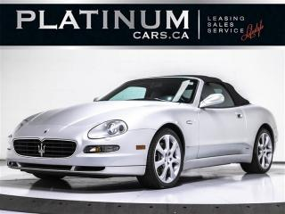 Used 2005 Maserati SPYDER CAMBIOCORSA, F1 PADDLESHIFT, Heated Leather for sale in Toronto, ON