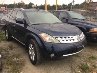 Used 2006 Nissan Murano 4dr SL AWD Auto for sale in Coquitlam, BC