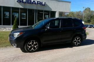 Used 2016 Subaru Forester XT Touring Eyesight for sale in Minden, ON