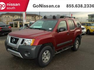 Used 2013 Nissan Xterra PRO-4X MANUAL, NAVIGATION, AIR for sale in Edmonton, AB