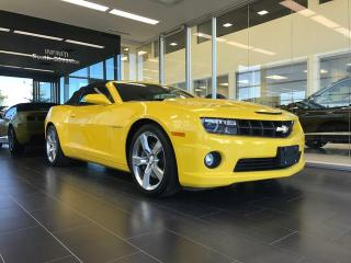 Used 2013 Chevrolet Camaro SS, Convertible, Low Kilometers, New Tires for sale in Edmonton, AB