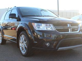Used 2015 Dodge Journey R/T, SUNROOF, BACKUP CAM, NAVI, BLUETOOTH, CRUISE CONTROL, REAR CLIMATE CONTROL, IN FLOOR / PASSENGER SEAT STORAGE, USB / AUX for sale in Edmonton, AB