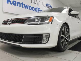 Used 2013 Volkswagen Jetta GLI with heated power leather seats and a sunroof! for sale in Edmonton, AB