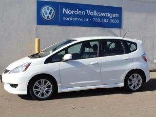 Used 2010 Honda Fit Sport for sale in Edmonton, AB