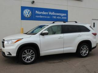 Used 2016 Toyota Highlander LE for sale in Edmonton, AB