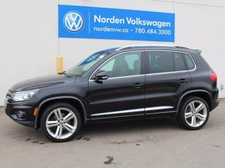 Used 2014 Volkswagen Tiguan Highline for sale in Edmonton, AB