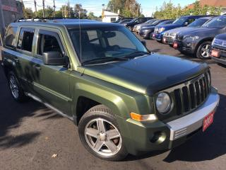 Used 2007 Jeep Patriot LIMITED/AUTO/LEATHER/SUNROOF/LOADED/ALLOYS for sale in Scarborough, ON