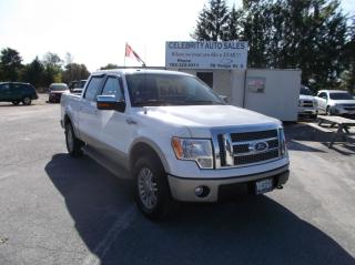 Used 2010 Ford F-150 4X4 4 DOOR KING RANCH for sale in Elmvale, ON