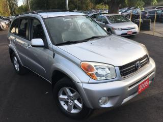 Used 2005 Toyota RAV4 AUTO/4WD/LEATHER/ROOF/LOADED/ALLOYS for sale in Scarborough, ON