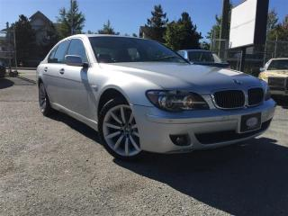 Used 2007 BMW 750i Executive for sale in Surrey, BC