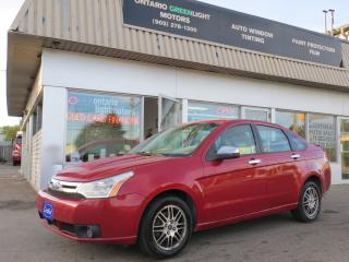 Used 2010 Ford Focus Automatic,all powered,a/c,alloys,fog lights for sale in Mississauga, ON