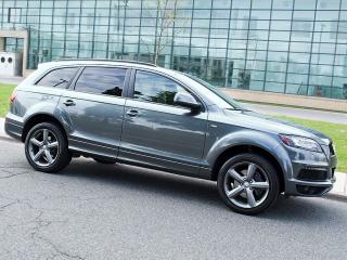 Used 2014 Audi Q7 7 SEATS|S LINE|NAVI|REARCAM|DUAL DVD|PANOROOF for sale in Scarborough, ON