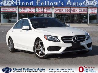 Used 2015 Mercedes-Benz C 300 PANORAMA ROOF, AWD, SPORT PACKAGE, LEATHER for sale in North York, ON