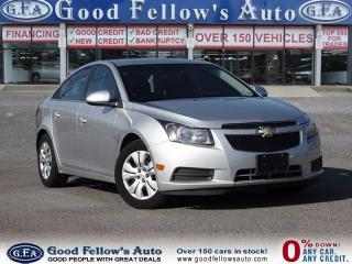 Used 2014 Chevrolet Cruze 1LT MODEL, POWER WINDOWS, KEYLESS ENTRY for sale in North York, ON
