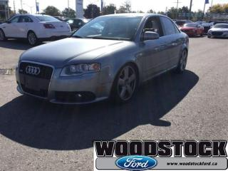 Used 2007 Audi A4 2.0T Quattro for sale in Woodstock, ON
