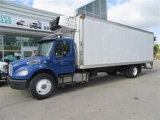 Used 2012 Freightliner M2-106 Business Class diesel with 26 ft refridgerated alum box for sale in Richmond Hill, ON