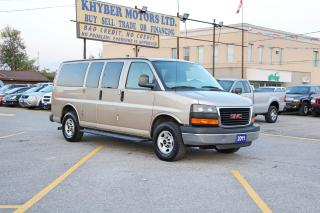 Used 2011 GMC Savana 2500 9-PASSENGER VAN for sale in Brampton, ON