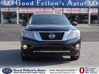 Used 2014 Nissan Pathfinder SE MODEL, AWD, LEATHER SEATS, SUNROOF, 7PASSENGERS for sale in North York, ON