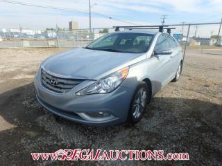 Used 2011 Hyundai SONATA LIMITED 4D SEDAN W/NAV 2.4L for sale in Calgary, AB