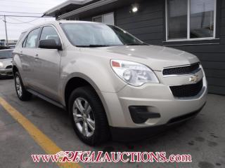 Used 2012 Chevrolet EQUINOX LS 4D UTILITY FWD 2.4L for sale in Calgary, AB