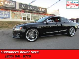 Used 2011 Audi S5 4.2 quattro Premium  AWD, BLINDSPOT, NAV, CAMERA, ROOF for sale in St Catharines, ON