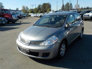 Used 2008 Nissan Versa 1.8 SL Hatchback for sale in Burnaby, BC