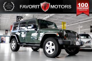 Used 2009 Jeep Wrangler Unlimited Sahara 4X4 | HARD/SOFT TOP CONVERTIBLE | MANUAL for sale in North York, ON