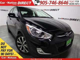 Used 2017 Hyundai Accent SE| SUNROOF| HEATED SEATS| OPEN SUNDAYS| for sale in Burlington, ON
