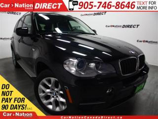 Used 2013 BMW X5 xDrive35i| LOW KM'S| NAVI| PANO ROOF| for sale in Burlington, ON