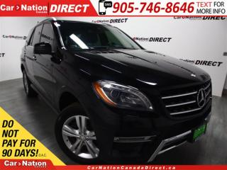 Used 2013 Mercedes-Benz ML-Class ML350 BlueTEC 4MATIC| NAVI| PANO ROOF| for sale in Burlington, ON