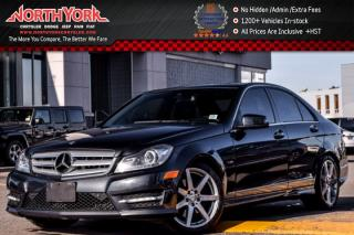 Used 2012 Mercedes-Benz C-Class C350 4Matic|Sunroof|Nav|Leather|H/K Audio|BlindSpot|17