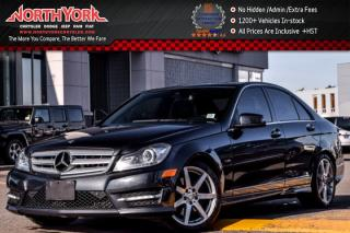 Used 2012 Mercedes-Benz C-Class C350|4Matic|Sunroof|Nav|Leather|H/K Audio|BlindSpot|17